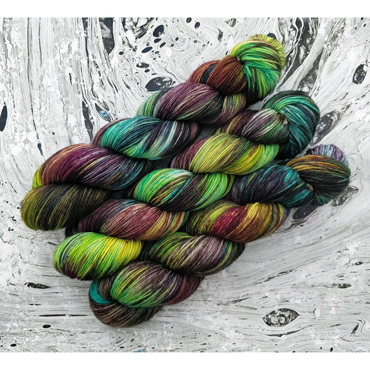 Forest of Glass, Soft Merino Sock