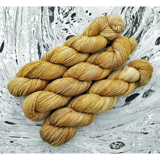 Golden Barley, Soft Merino Sock