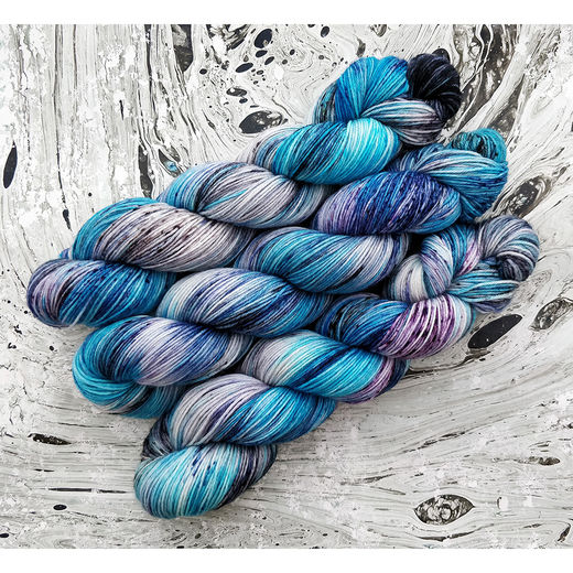 Ice Queen, Soft Merino Sock